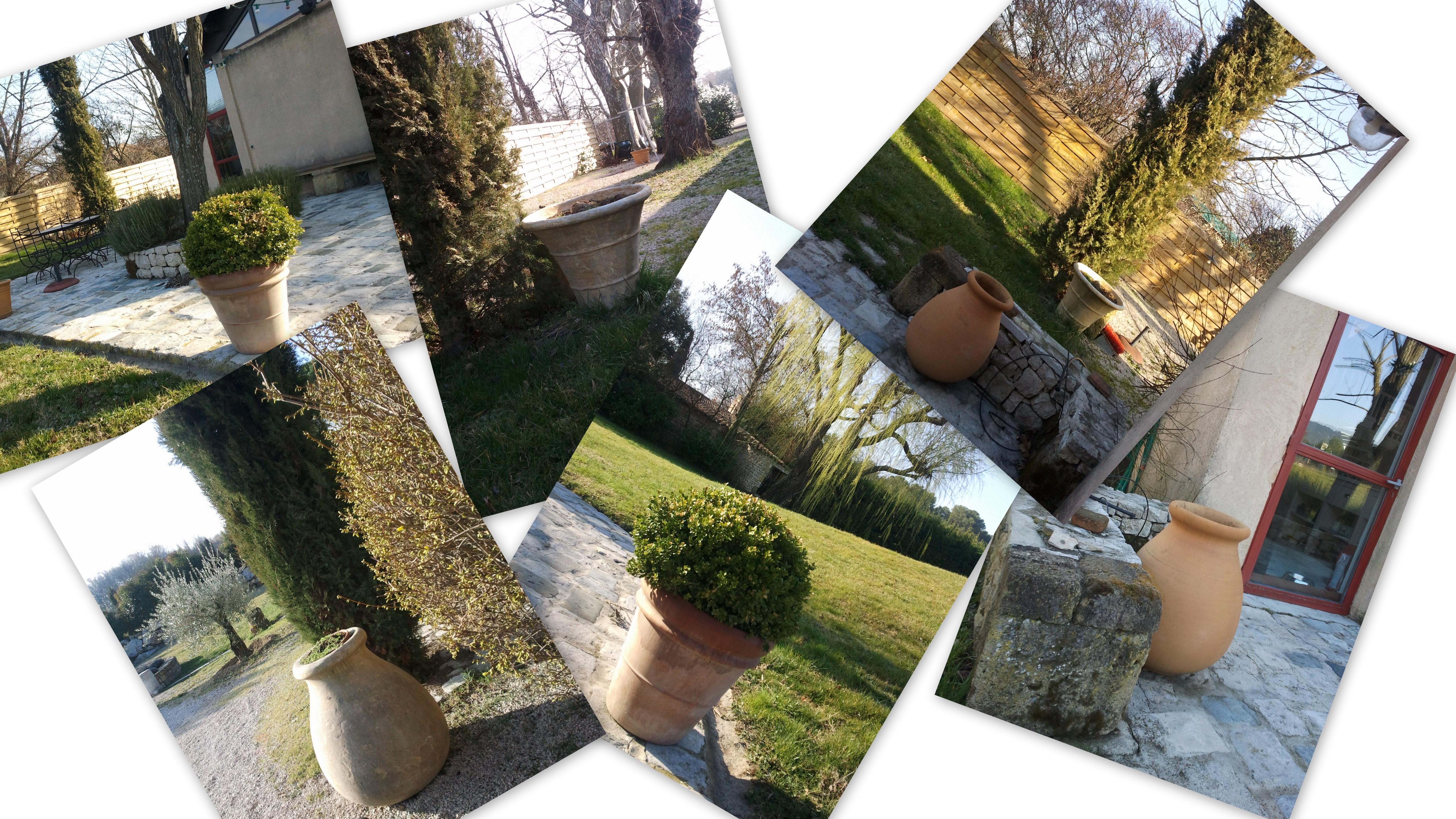 Cot jardin proven al les poteries en provence for Blog deco jardin