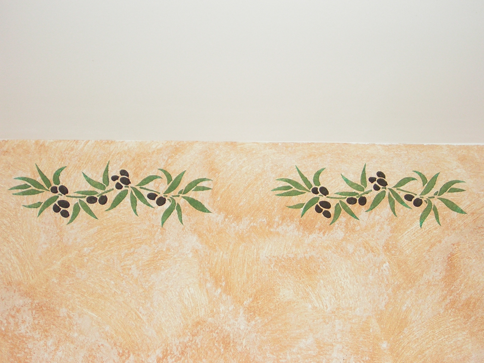 d coration proven ale les frises au pochoir en provence. Black Bedroom Furniture Sets. Home Design Ideas