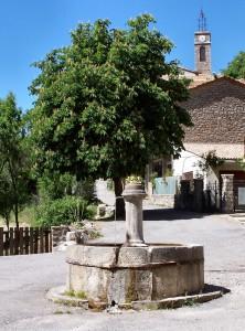 Saint Julien du Verdon Fontaine