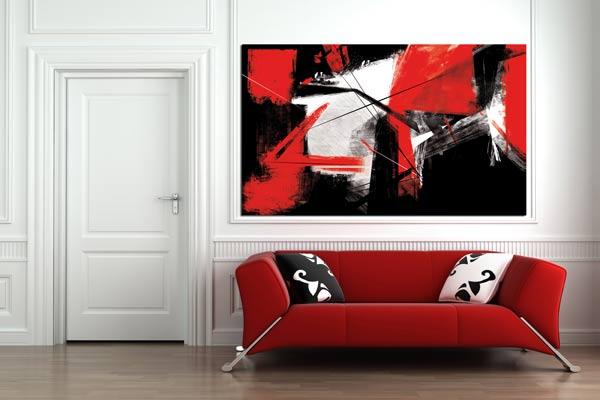 Un tableau de d coration murale pour votre int rieur - Tableau deco pour bureau ...