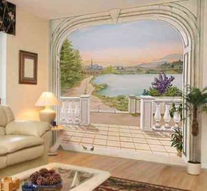 D coration murale tr s grand format le chic et le choc for Decoration murale vue sur new york