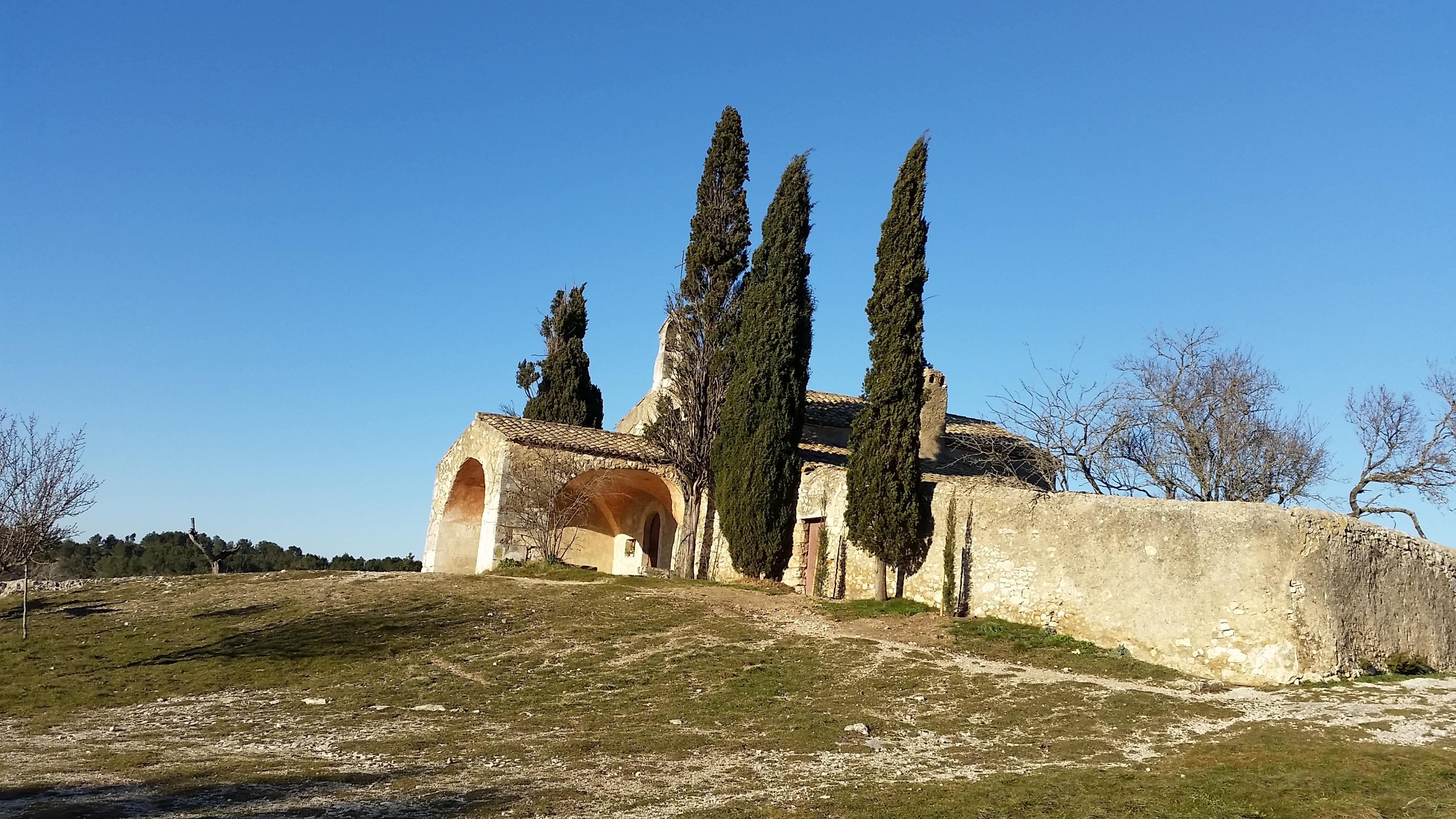 Eygalières… La chapelle Sainte Sixte ….