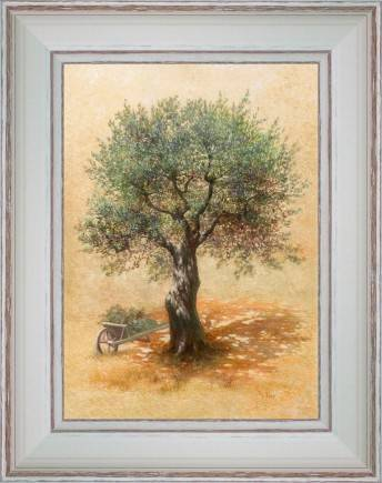 https://tableaux-provence.com/154-970/wheelbarrow-and-olive-tree.jpg