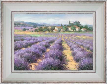http://tableaux-provence.com/1863-zoom/painting-country-deco-a-hamlet-in-the-middle-of-lavenders.jpg