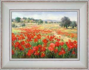 Invasion of poppies