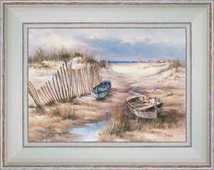 Boats in dunes