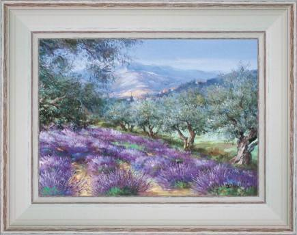 https://tableaux-provence.com/222-2159/painting-country-deco-row-of-olive-trees-at-the-edge-of-lavenders.jpg
