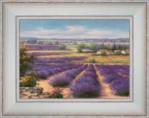 Surrounded with lavenders