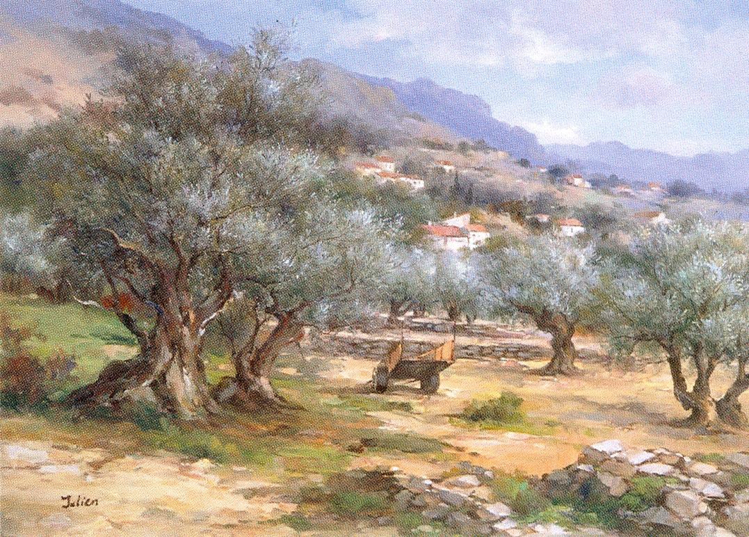 Tableaux des Paysages de Provence