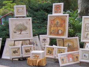 Exposition en plein air en Provence