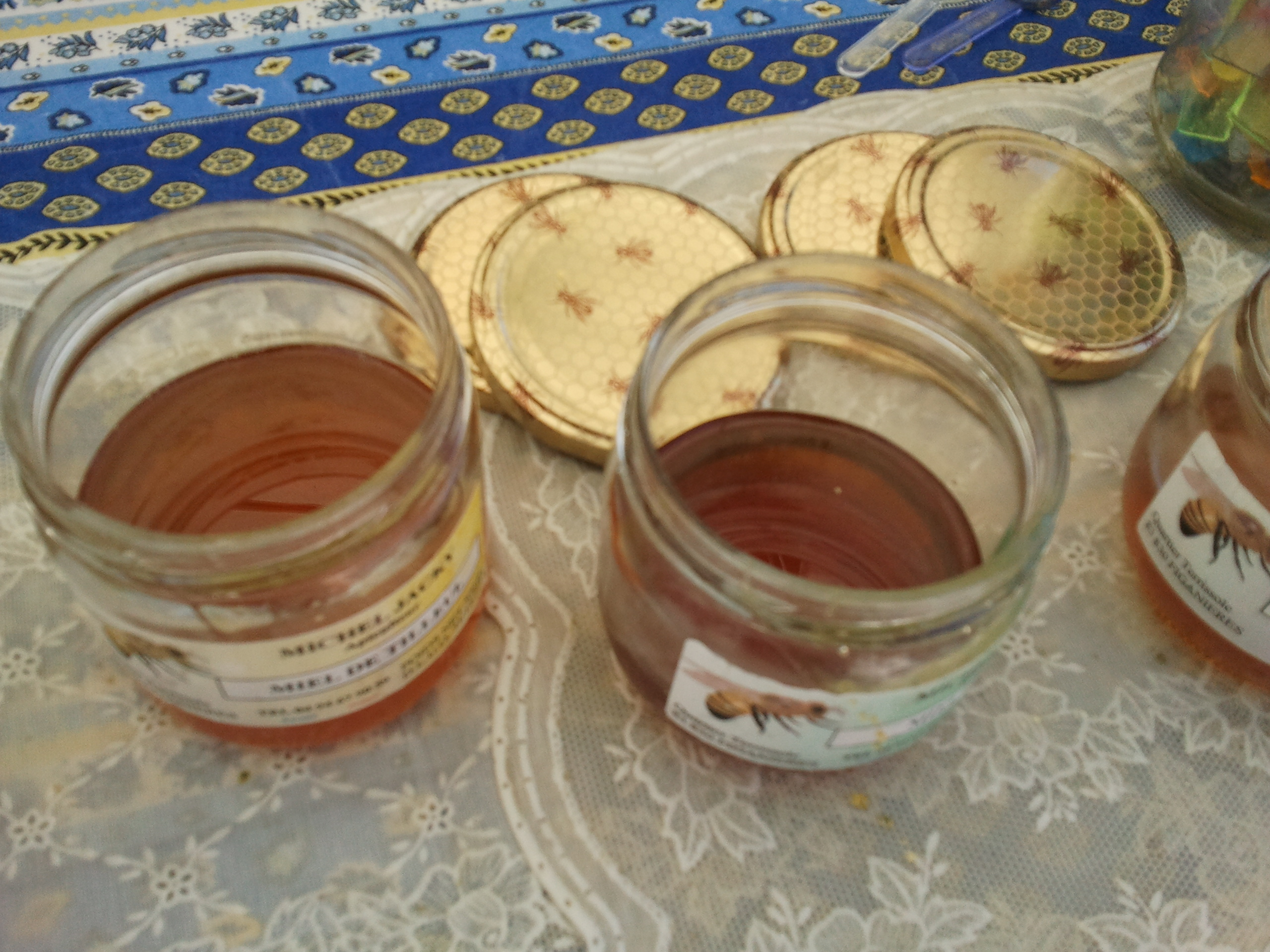 Fabrication du Miel.