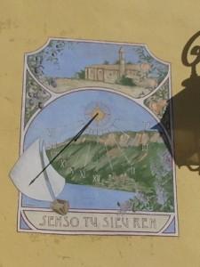 Cadran solaire St Julien du Verdon