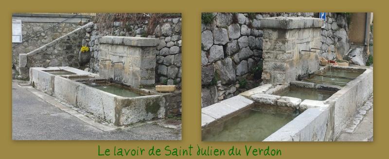 Lavoir de St Julien du Verdon