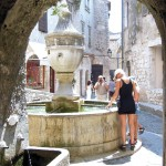 Fontaine St Paul de Vence