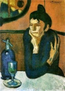 Picasso-Le-verre-d-absinthe-de-Picasso