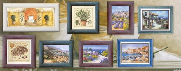 Nouvelles couleurs de cadre pour vos tableaux.