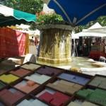 Savons de Marseille sur les marchés de Provence