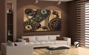 Un tableau de d coration murale pour votre int rieur - Tableau de decoration salon ...
