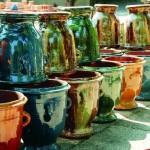 Décoration de charme: Les vases de jardin.