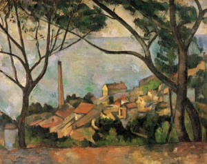 Cézanne L'estaque