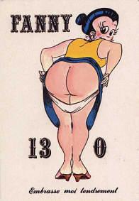 ... baiser Fanny Expression utilisé à la pétanque quand un joueur subit une rude défaite ...