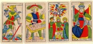 Cartes tarot Marseillais