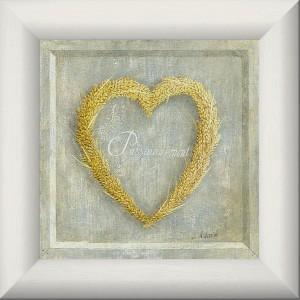 Cœur de blé passionnément  - Tableau Provence