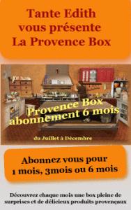 Chez Tante Edith - Provence Box