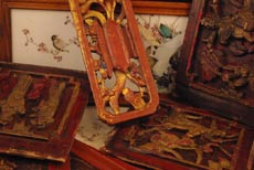 Objets chinois bois, Antiquité de Chine