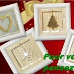 Préparer Noël, pensez Tableaux !!!