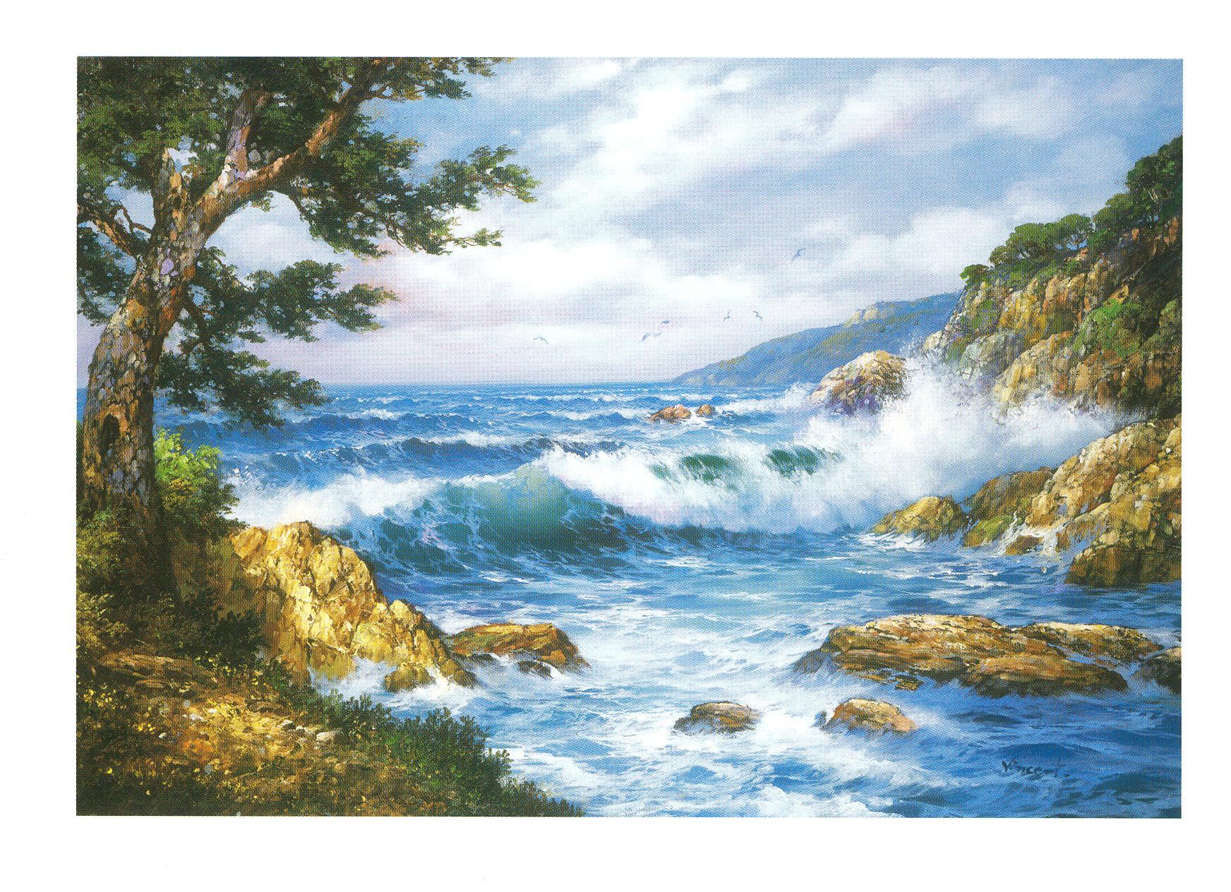 Nouveaux tableaux sur la «Mer» ( partie 1)