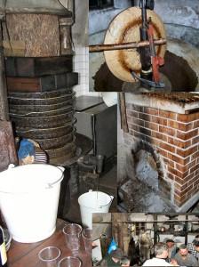 Bignette : l'intérieur du moulin