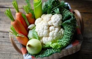 Légumes d'hiver dans votre potager provençal