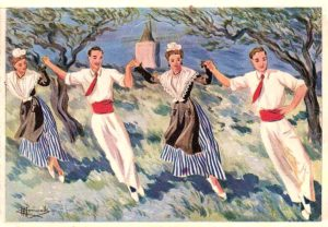Folklore provençal : Danser la farandole !!!