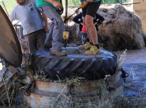 Distillation de la lavande à Valensole