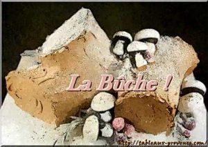 La bûche de noël aux saveurs de la Provence