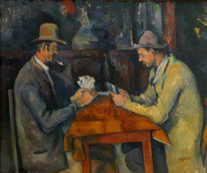 Les joueurs de cartes 1895
