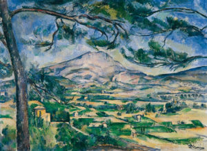La Montagne Sainte-Victoire 1885-1887 (Courtauld Institute of Art, Londres)