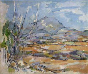 La Montagne Sainte-Victoire vue de la carrière Bibemus 1897 (Baltimore Museum of Art, Baltimore)