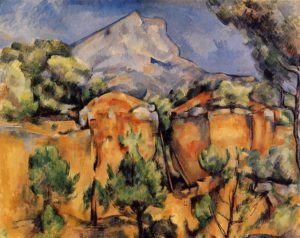 La Montagne Sainte-Victoire 1885-1887 (National Gallery of Scotland, Édimbourg)