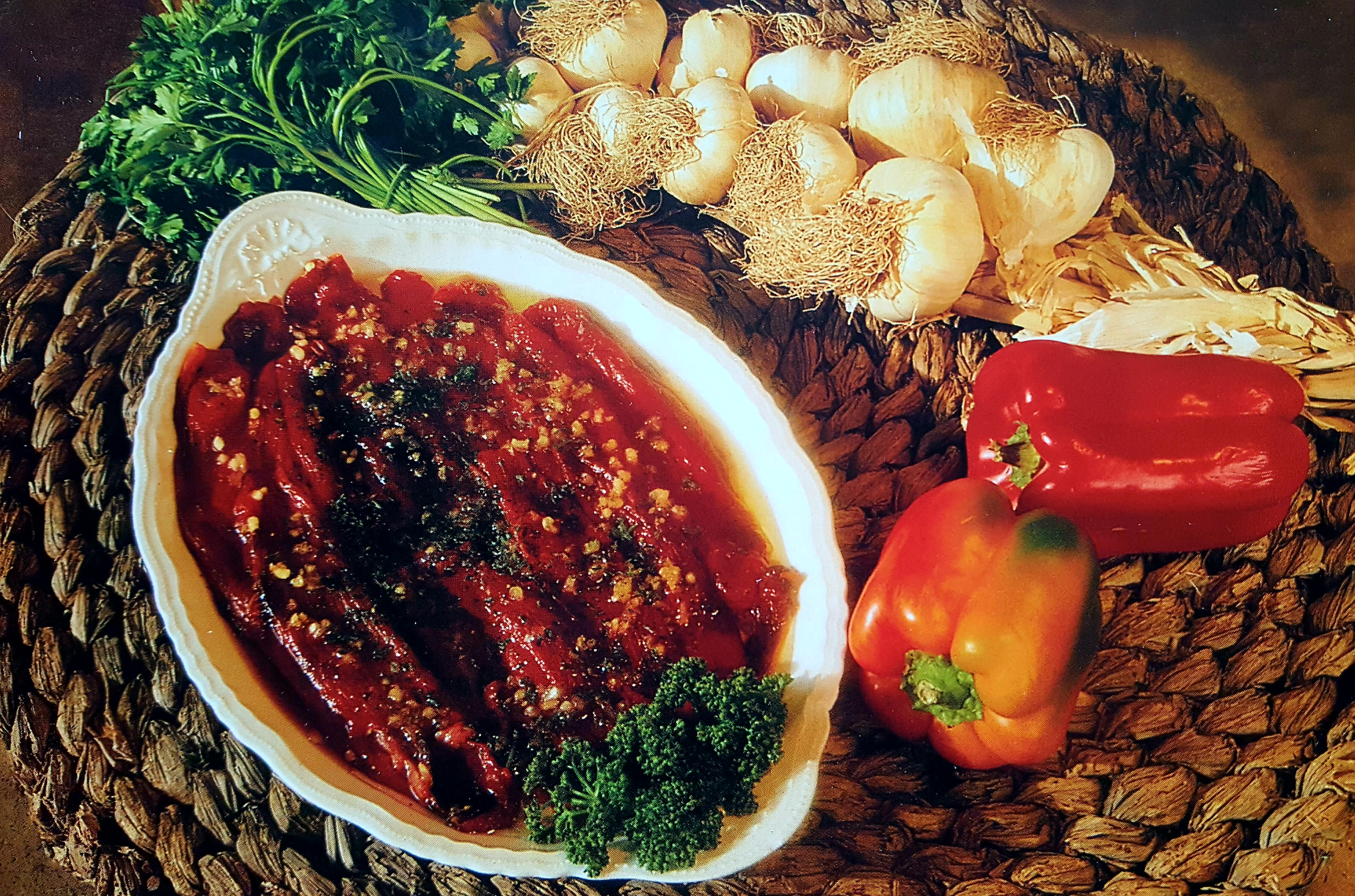 Recette provençale : les poivrons marinés du Sud