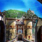 Entrevaux, cité médiévale des Alpes-de-Haute-Provence...