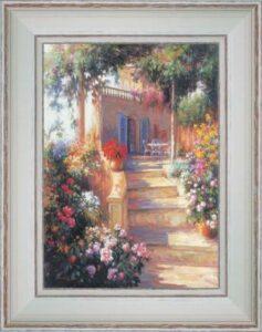 Patios et terrasse : Escalier et terrasse à balustre