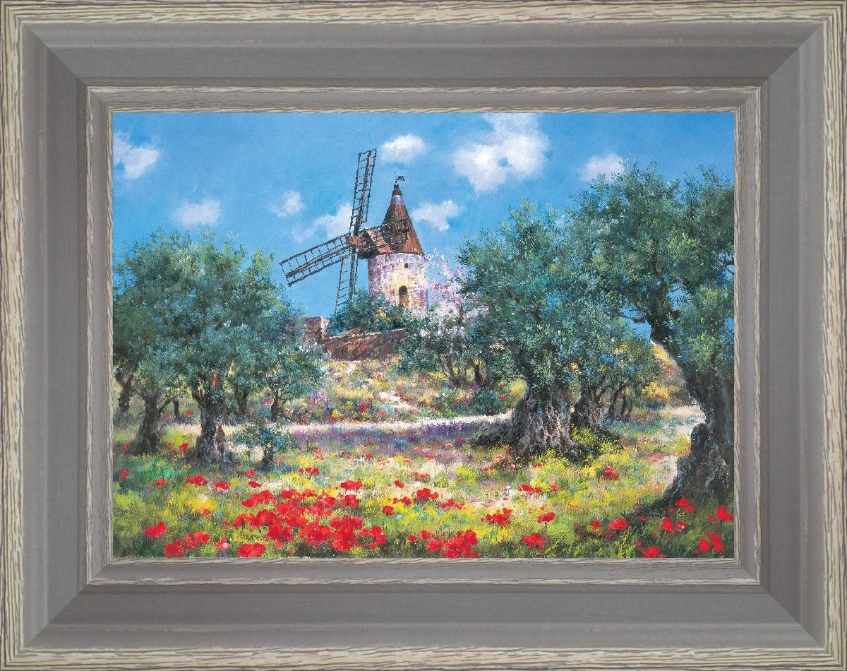Alphonse Daudet, lettres du moulin de Fontvieille