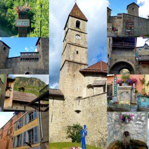 Colmars les Alpes citadelle dans le Haut Verdon - au coeur du village