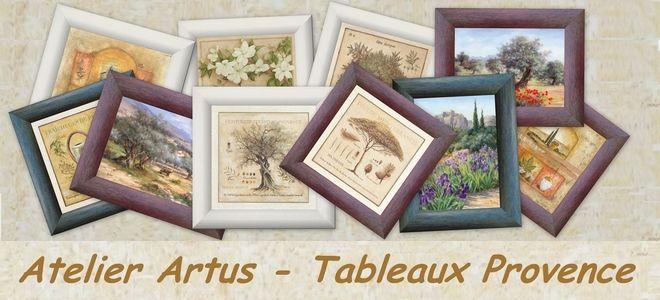 Tableaux Provence - Atelier Artus